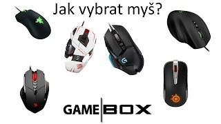 Jak vybrat myš | GameBox tipy