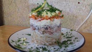 Салат с тунцом / Очень вкусно, просто и полезно