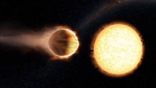 WASP-121b: The Planet With an Atmosphere of Glowing Water (720p 360°)