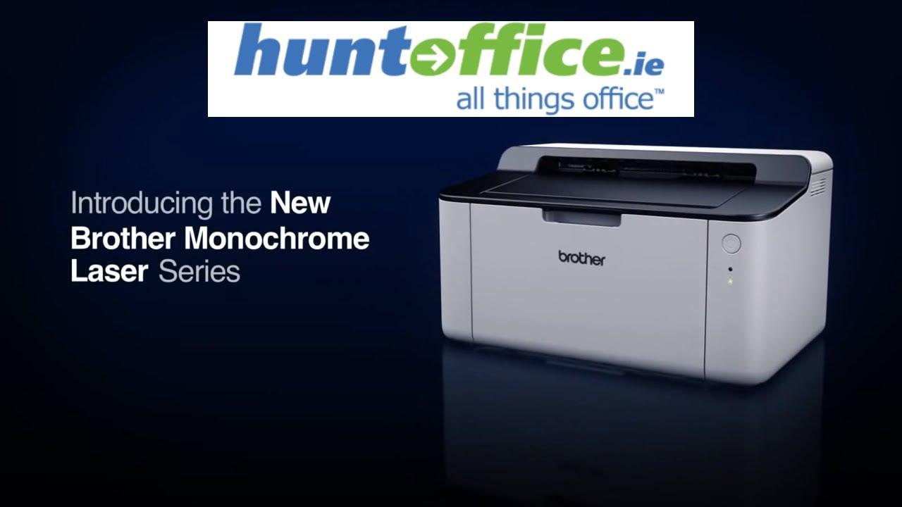 Lækker Brother DCP-1510 Mono Multifunction Laser Printer - YouTube KY-87