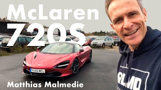 McLaren 720 S | ESP aus | Variable Drift Control | Hot Start | Matthias Malmedie