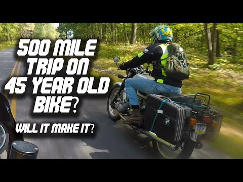 NC To PA On A BMW R90/5 Will It Make It?