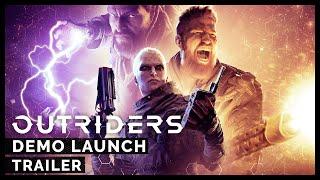 Outriders: Demo Launch Trailer [ESRB]