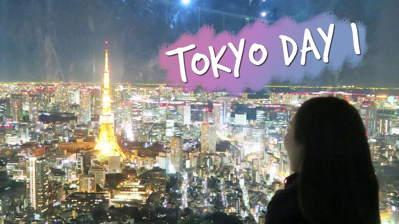 Why I Fell In Love With Japan Tokyo Day 1 Vlog