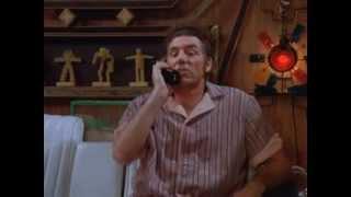 Repeat youtube video Seinfeld Kramer Moviefone Man