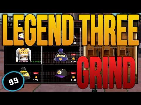 NBA 2K16 MyPark Legend 3 - GRIND TIME! @JJ2K