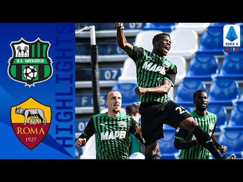 Sassuolo AS Roma Goals And Highlights