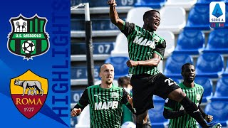 Sassuolo 2-2 Roma | Sassuolo Hit Back Twice to Take a Point! | Serie A TIM
