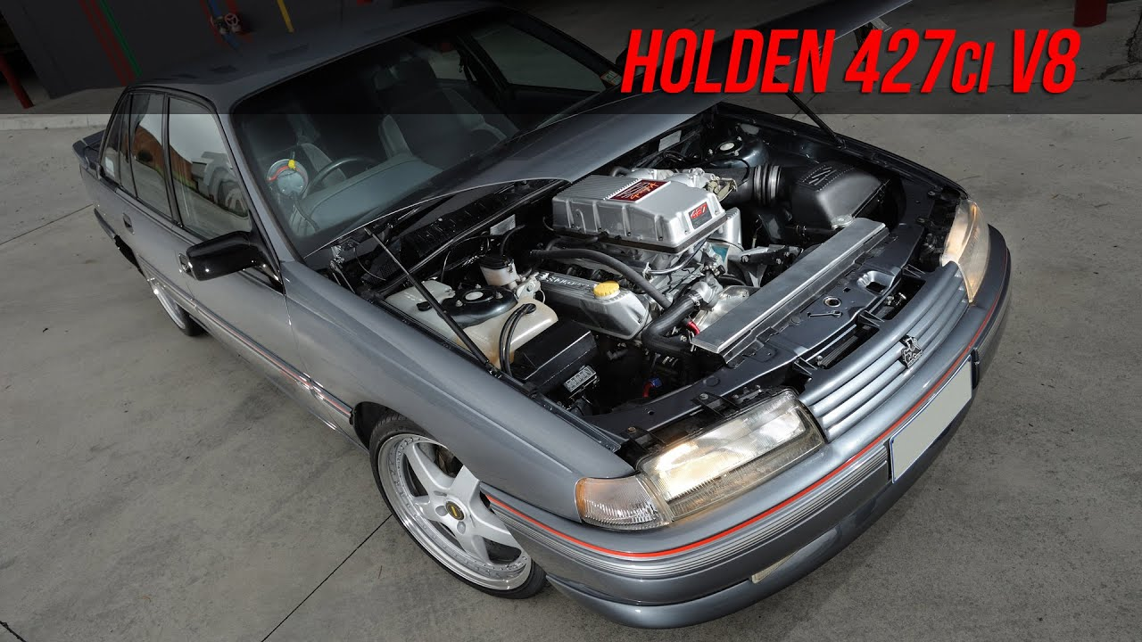 427ci Holden V8 Vn Ss Commodore Youtube