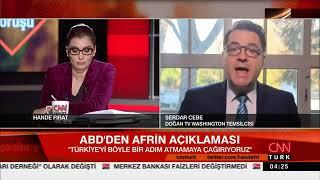 Türkiye Nin Olası Afrin Operasyonu öncesi Washington Da Neler Söylendi ?