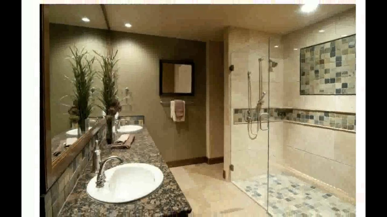 Home Bathroom Remodeling Beauteous Bathroom Remodeling Ideas  Youtube Inspiration Design