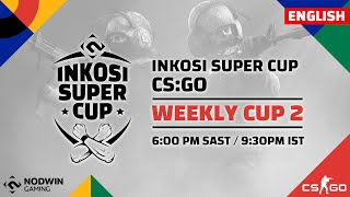 [EN] CS:GO | Inkosi Super Cup |  Week 2 I Nodwin Gaming South Africa
