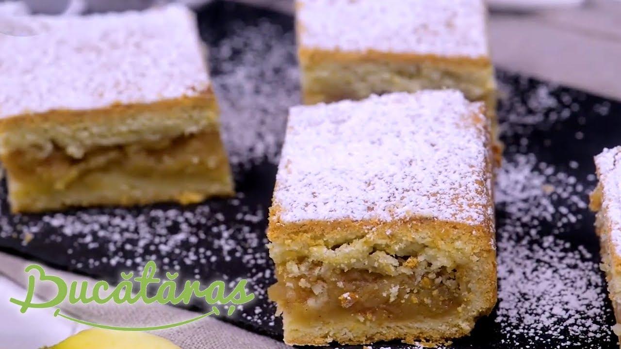 Reteta - Placinta cu mere | Bucataras TV