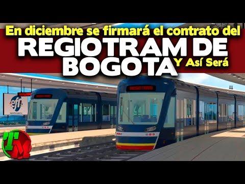Así Sera el Regiotram de Bogotá  | Se Contratara en Diciembre de 2019