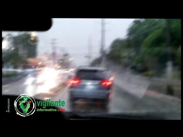 Lluvias de Isaac inundan Gran Santo Domingo