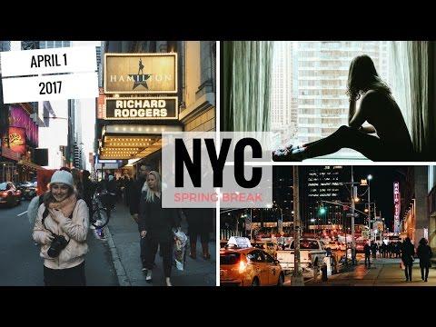SPRING BREAK IN NYC! | 4.1.17