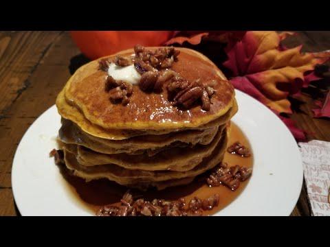 Pumpkin Pie Pancakes (Take 2)