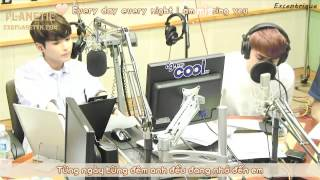 [Vietsub + Kara] 130813 RyeoWook & D.O. - Missing you LIVE@ Sukira Radio [EXOPLANETVN.COM]