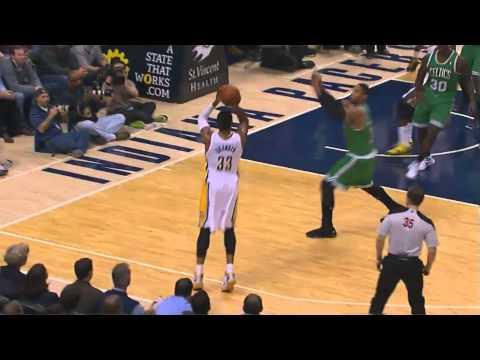 Danny Granger Vs Boston Celtics Highlight (12Point - 4 Three Point)