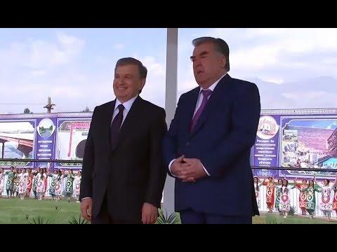 Oʻzbekiston Prezidenti Shavkat Mirziyoyev 2018-yil 27-sentabr kuni Tojikistonga tashrif buyurdi