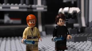 Lego Star Wars - Anakin and Obi Wan vs Count Dooku