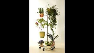 Передвижная напольная подставка для цветов 'Ева'(Передвижная напольная подставка для цветов