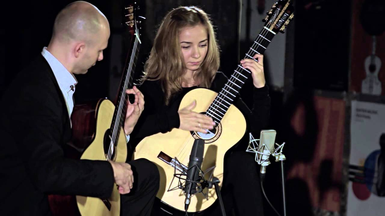 Kupinski Guitar Duo - Dusan Bogdanovic - Sonata Fantasia