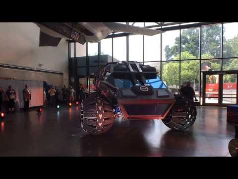 Welcoming the Mars Rover Concept Vehicle