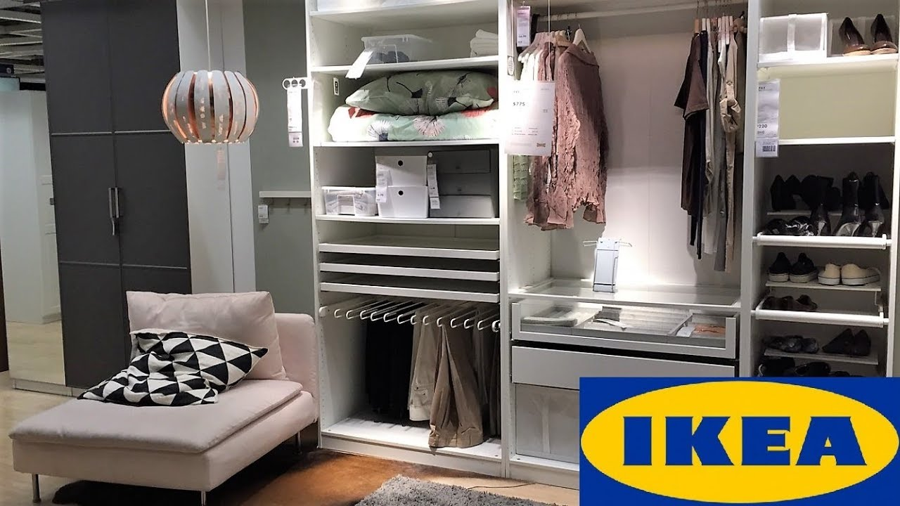 Ikea Closets Wardrobes Furniture Shop With Me Shopping