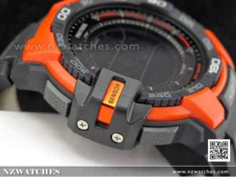 Casio Protrek Ver 3 Triple Sensor Compass Solar Watch PRG-270-4 ... bb1d510426