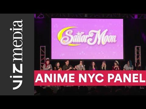 Sailor Moon Panel - Anime NYC 2017