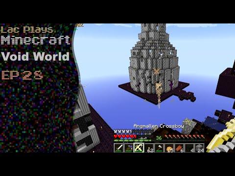 how to make a minecraft void world