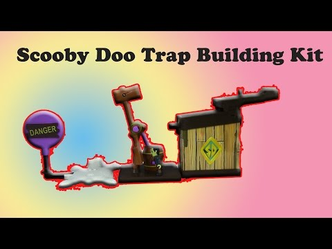 Scooby Doo Mega Trap Building Kit - 30+...