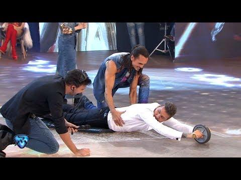 Épico: Cristian Sancho entrenó a Marcelo en vivo