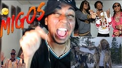 Migos - T-Shirt Reaction / Review THEY IN ANTARTICA!? LIT or SHIT?   Better than Bad and Boujee?