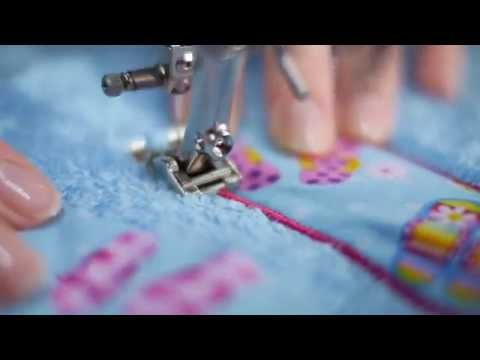 Tutorial: how to use the BERNINA embroidery foot no. 6, 20, 20C, 20D, 39, 39C and 56
