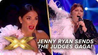 Jenny Ryan sends the Judges GAGA!   Live Week 3   X Factor: Celebrity