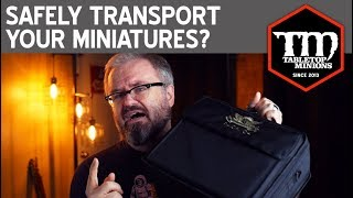 Safely Transport Your Miniatures?