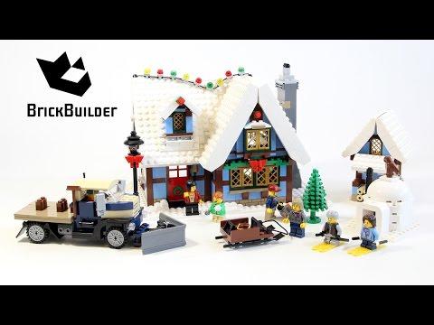Lego Creator 10229 Winter Village Cottage - Lego Speed Build