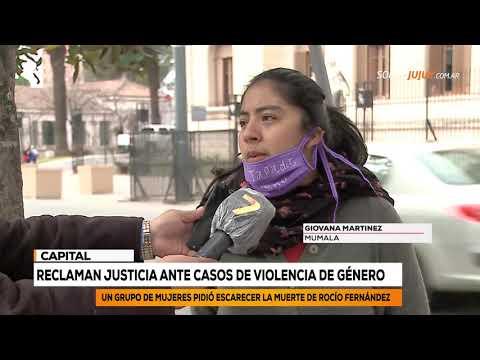 Reclaman Justicia Ante Casos De Violencia De Género | Somos Jujuy