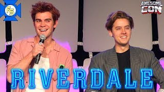 RIVERDALE Panel (KJ Apa, Cole Sprouse) - Awesome Con 2019