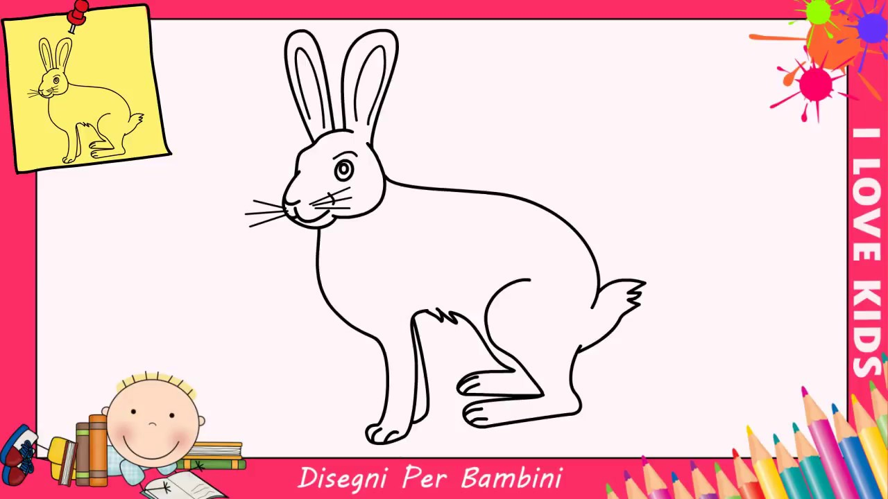Disegni di conigli facili tx09 regardsdefemmes for Disegni facili per bambini