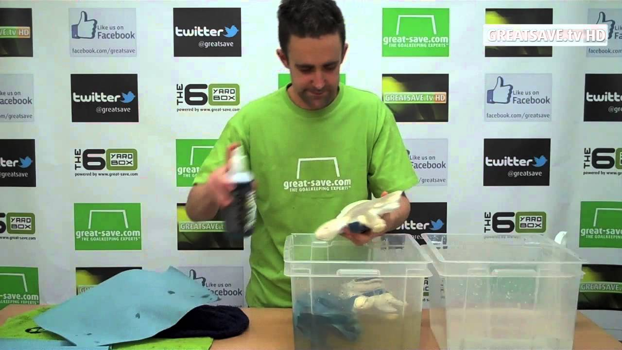 How to wash and care for goalkeeper gloves - YouTube 474ff00d512c