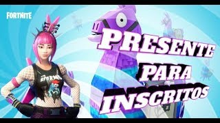 FORTNITE I WILL PRESENT YOU WITH 3 SKINS