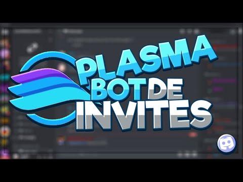 Melhor bot de invites -PlasmaBOT-