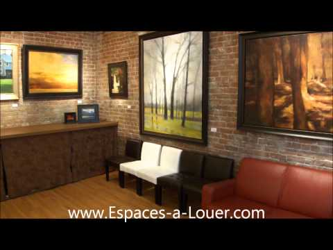 Lease Commercial Loft Old Port of Montreal Ground Floor  (retail)