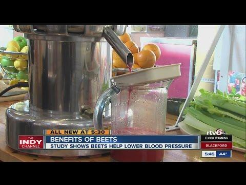 Health benefits of drinking beet juice