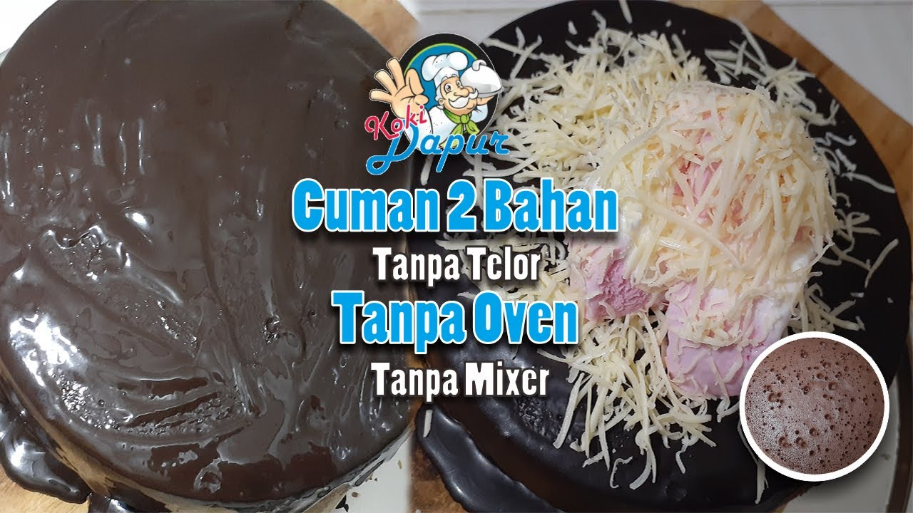 kue oreo dua bahan mudah  enak  oven  mixer icecream cake  cheese youtube Resepi Oreo Cheese Cake Tanpa Oven Enak dan Mudah
