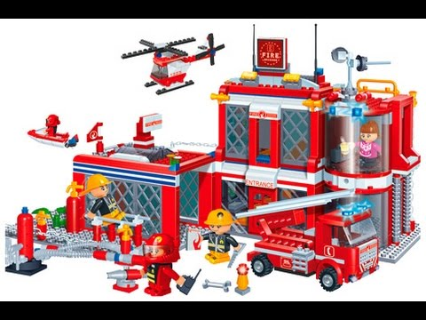 Worksheet. Estacin de bomberos de juguetes para nios  YouTube