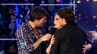 Showmatch 2012 - Carmen Barbieri y Matías Alé, a los besos